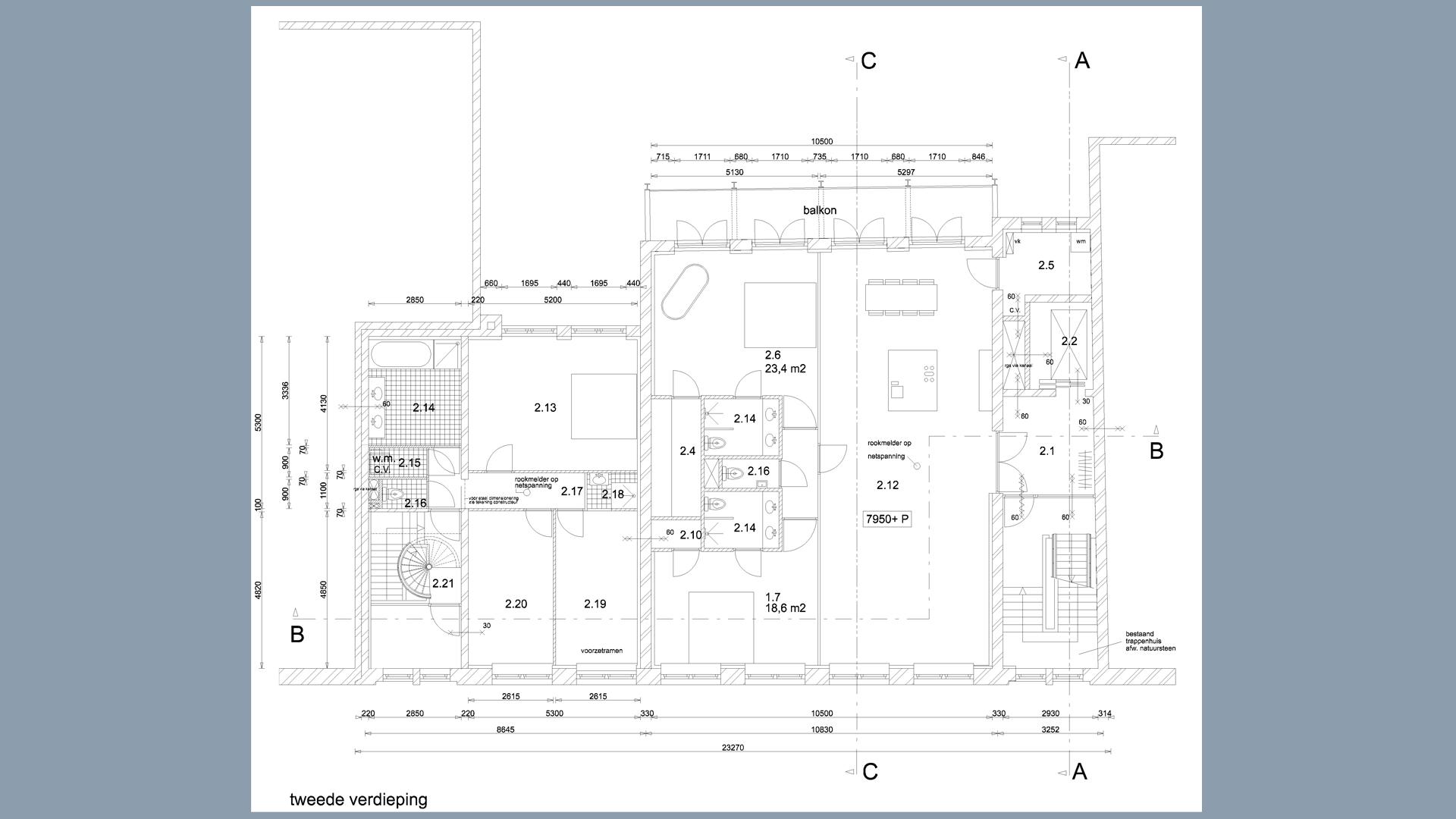 Hooikade plattegrond V2
