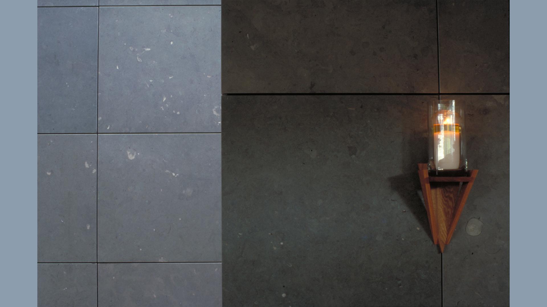 Kapel interieur detail