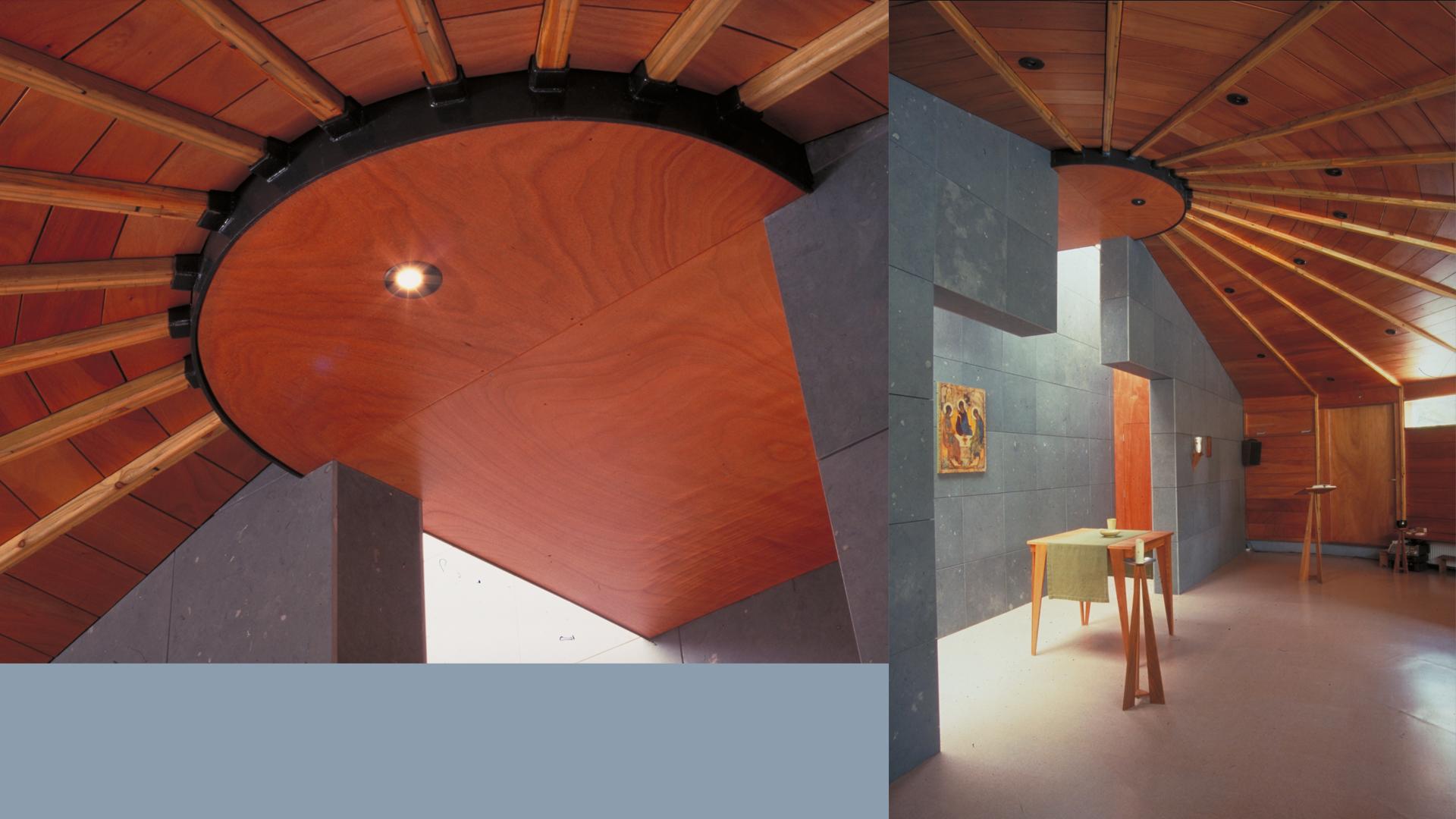 Kapel interieur vert+nok