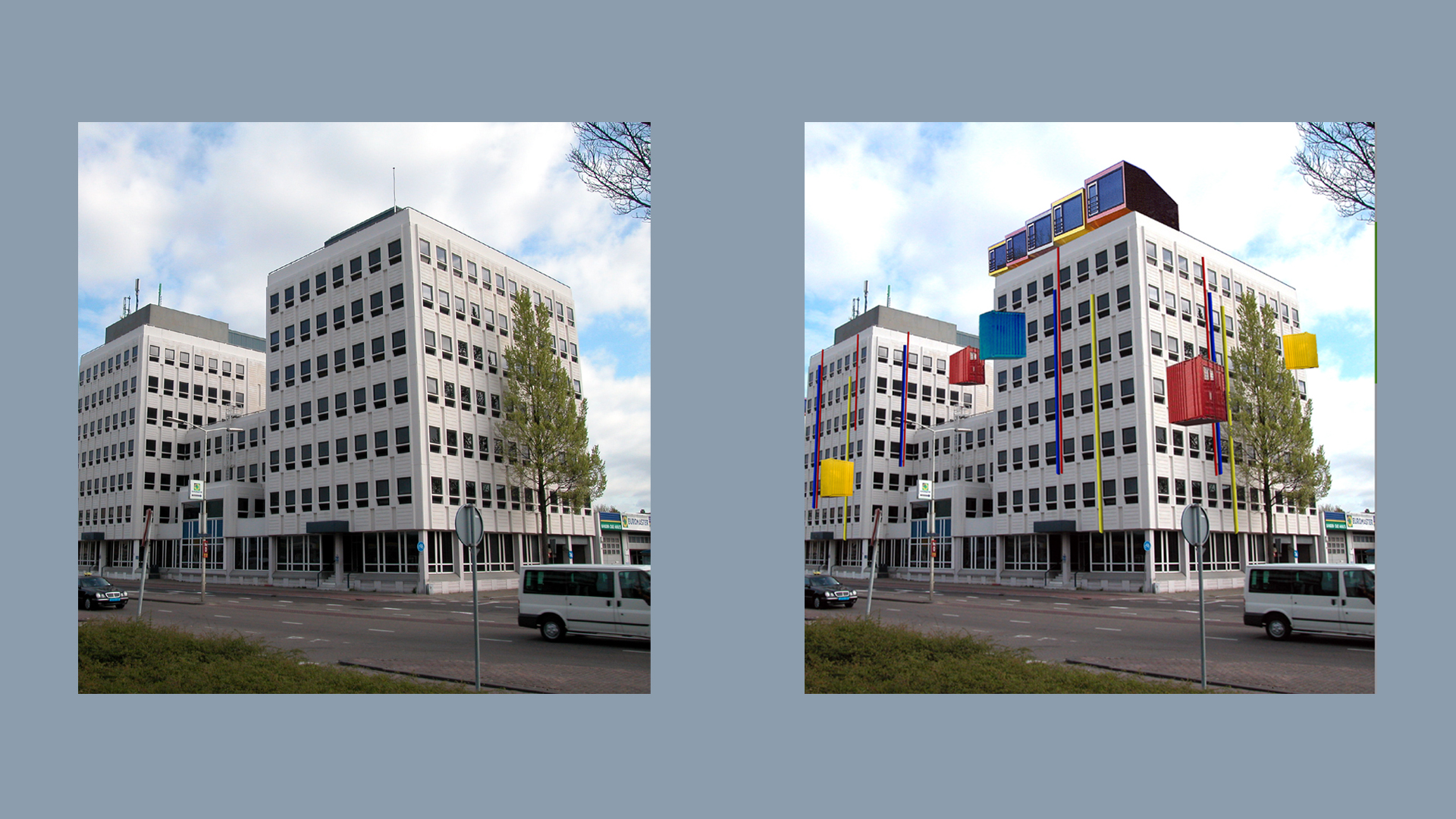 Transformatie kantoorgebouwen 1